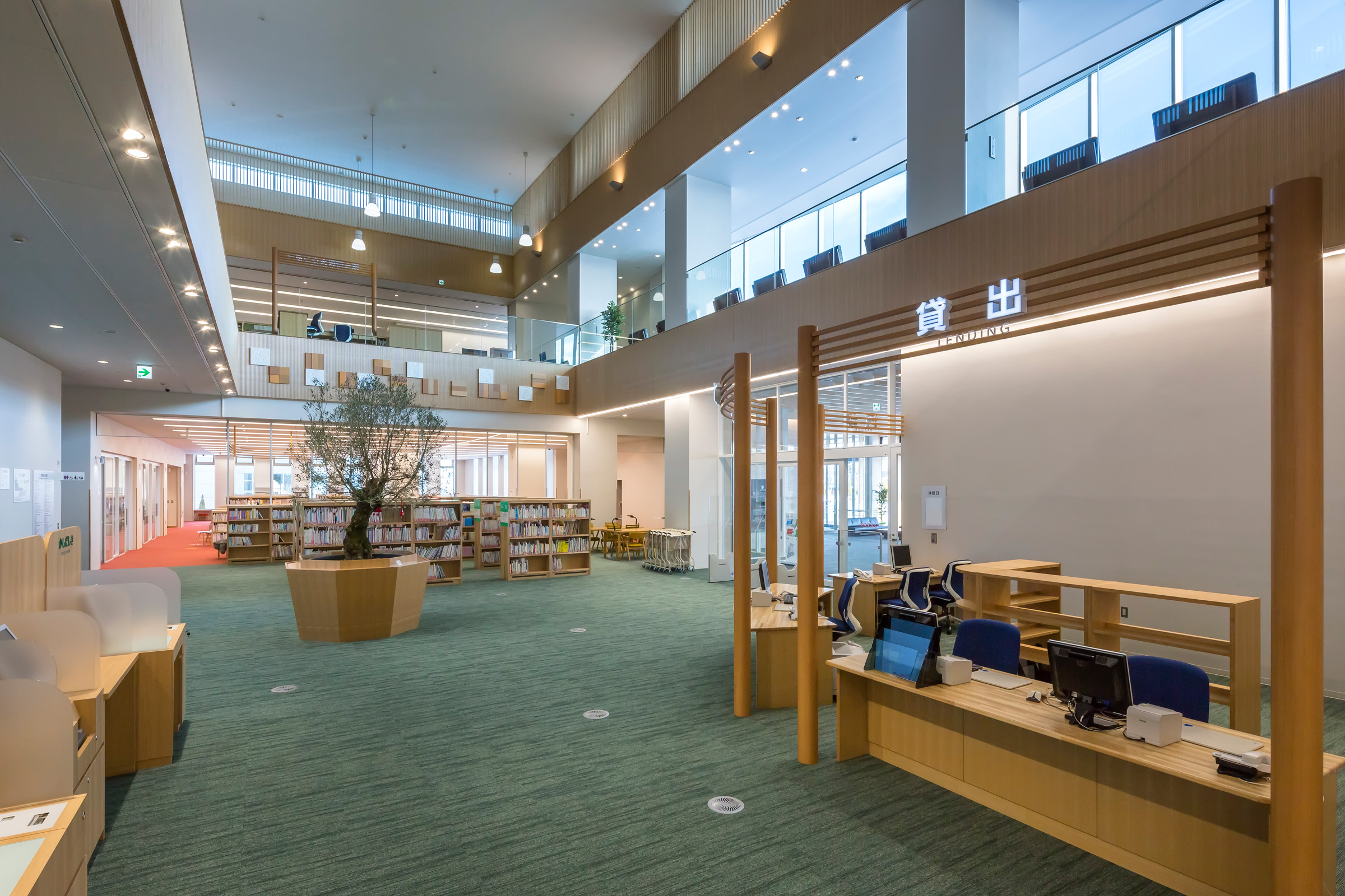 Kitami City Central Library