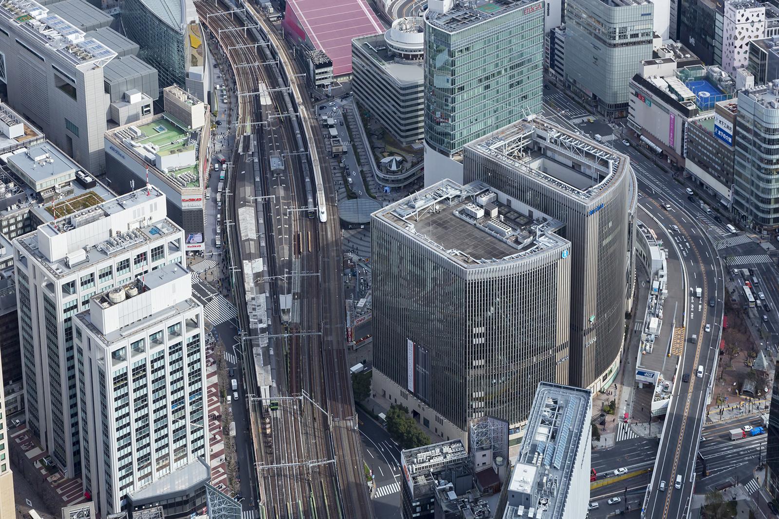 Yamanote Line Station